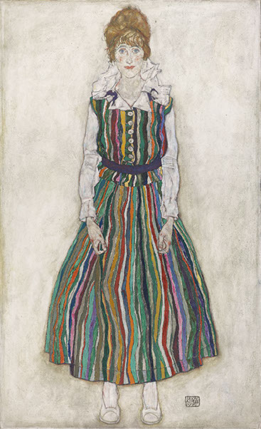 Egon Schiele (1890-1918), Portrait of Edith, 1915